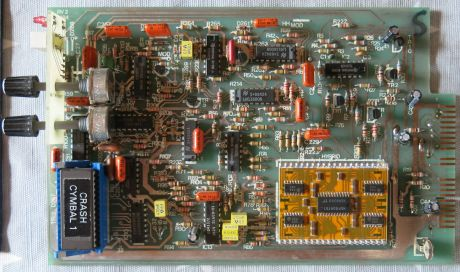 Simmons SDS 7 Analog voice board