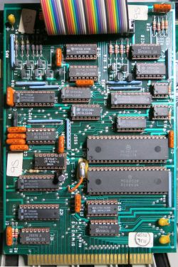Simmons SDS 7 Memory Board Front Side
