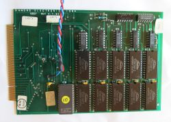 Simmons SDS 7 Memory Board Back Side