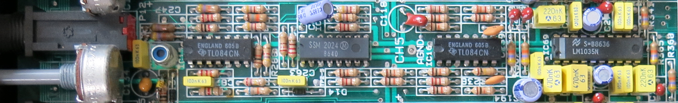 SPM 8:2 channel strip